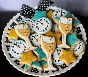 Очень новогоднее печенье - новогодние рецепты