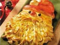 Пирог Дедушка Мороз - новогодние рецепты