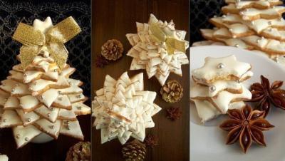 Пряничные ёлки - новогодние рецепты