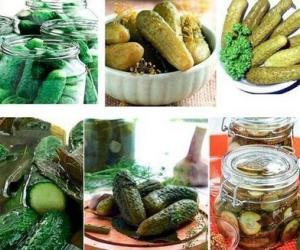 Рецепты малосольных огурцов