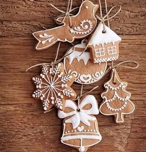 Рецепт новогоднего имбирного печенья