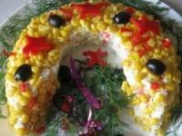 Салат Подкова - новогодние рецепты