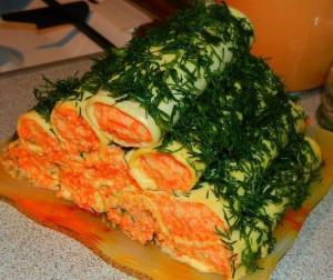 рецепт сырных трубочек с насинкой