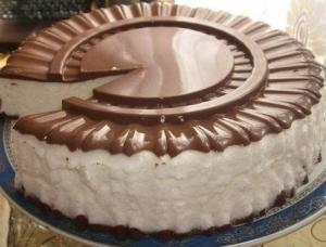 Торт Птичье молоко вкусное