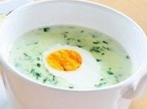 Финский суп со шпинатом