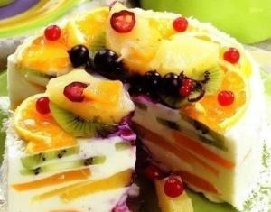 Волшебный творожный торт