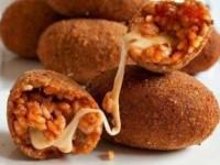 Крокеты с сыром (итальянские рисовые шарики)