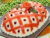 Новогодний салат «Принцесса» - новогодние рецепты
