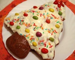Новогодний торт «Ёлка»