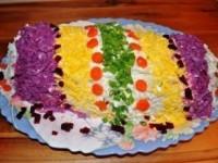 Салат «Новогодняя хлопушка» - новогодние рецепты