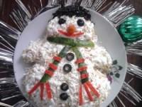Салат «Снеговик» - новогодние рецепты