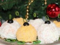 Салат Новогодние шары или та самая Мимоза - новогодние рецепты