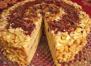 """Творожный торт """"Минутка"""""""