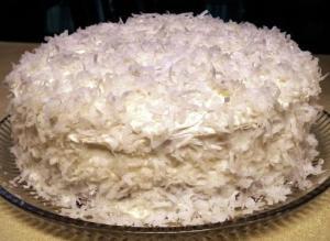 Торт «Рафаэлло» (по-быстрому)