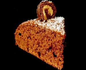 Шоколадно-кокосовый торт (постный вариант, без яиц и масла)