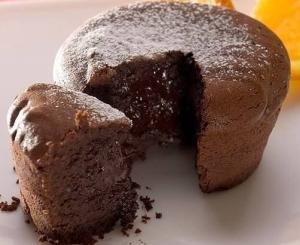 Шоколадный кекс по-французски