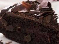 Шоколадный торт с масляным кремом из какао-порошка