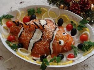 "Забавный салат ""Немо"""