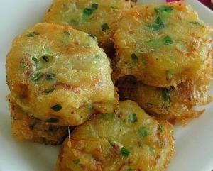 Картофельные оладушки из Сингапура
