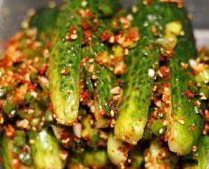 Кимчи из огурцов