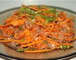 """Корейское блюдо """"Хе"""" из мяса"""
