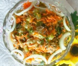 """Отличный салат """"Домашний"""""""