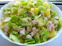 Очень легкий и не менее вкусный салатик