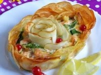 Рыбно-картофельный пирог (запеканка)