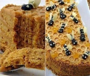 "Торт ""Пчелка"""