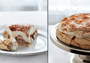 """Торт кофейная """"Павлова"""""""
