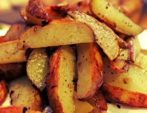 Чесночная картошка