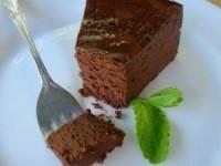 Шоколадное пирожное без муки