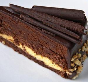 Шоколадный торт «Брауни»