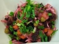 Винегрет без картофеля (50 ккал на 100 г)