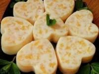 Десерт из заварного крема с апельсиновым вкусом