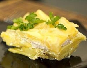 Запеканка из картофеля с курицей