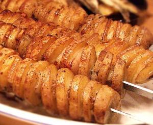 Кебаб из картофеля