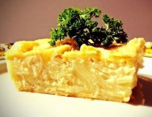 Слоеная картофельная запеканка