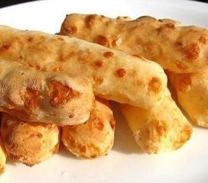Сырные палочки из лаваша с чесноком