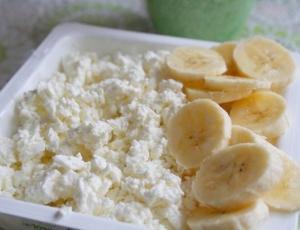 Творог с бананом (без сахара и мёда!) - два рецепта