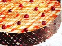 """Торт """"Наполеон"""" клюквенный"""