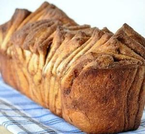 Хлеб с корицей и сахаром