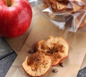 Яблочные чипсы со специями