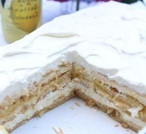 Десерт а-ля тирамису с лимончелло и рикоттой