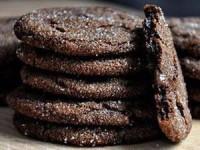 Шоколадное печенье с имбирем