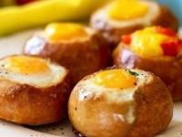 Булочки на завтрак