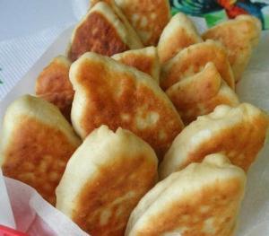 """Жареные пирожки """"Ложные грибы"""""""