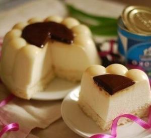 Мини-торт «Птичье молоко»