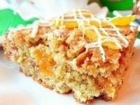 Мультизлаковый пирог с орехами и курагой