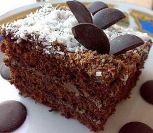 Очень вкусный шоколадный торт